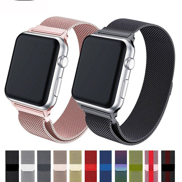 Stainless Steel Mesh Watchband - Apple Watchband Series - 4/3/2/1 - i-love-fashion-365