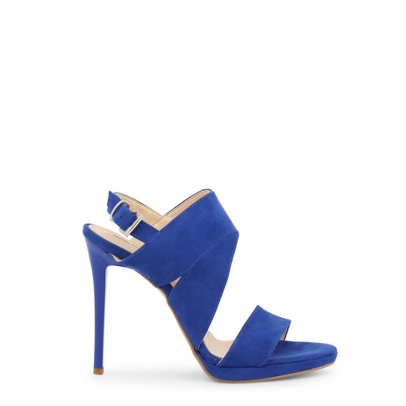 Arnaldo Toscani - Holiday Cross Strap Heels - Blue High Heel Sandals  - 1218021 - i-love-fashion-365