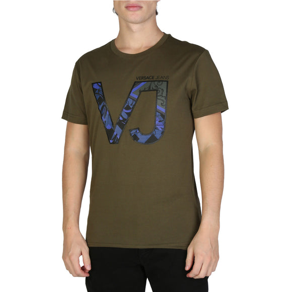 Versace Jeans - Men's Designer T-Shirt - Army Green or Black - VJ - i Love Fashion 365 - Zovasa Global 365