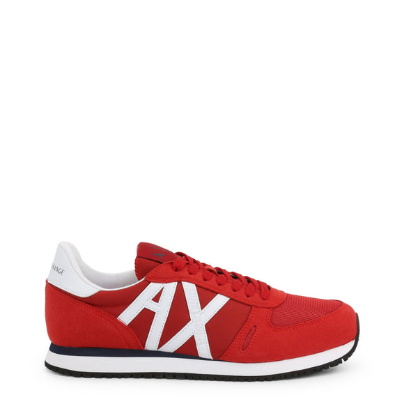 Armani Exchange - Men's Red AX Sneakers - I Love Fashion 365 - Zovasa Global