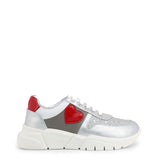 Love Moschino - Silver Casual Shimmer Sneakers