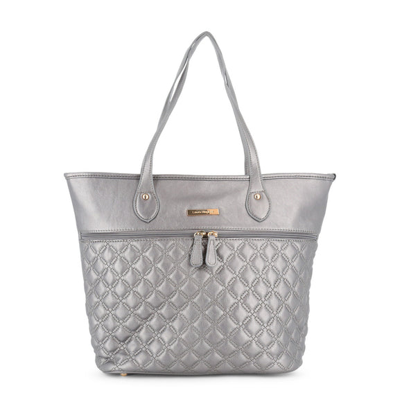 Laura Biagiotti - Perfect Silver Holiday Shopping Purse - i-love-fashion-365