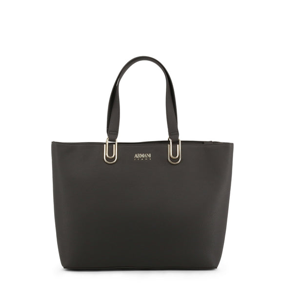 Casual Leather Bucket Style Shopping Bag by Armani Jeans - i-love-fashion-365