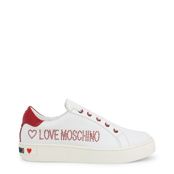 Love Moschino - Studded Logo Designer Casual Sneakers