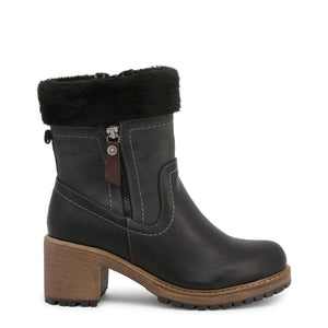 Xti - Double Zipper Ankle Boots with Fabric Trim Lining - i Love Fashion 365 - Zovasa