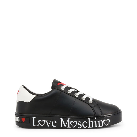 Love Moschino - Solid Black Sneakers - I Love Fashion 365
