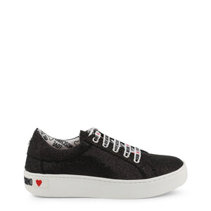 Love Moschino - Casual Black Sneakers - i-love-fashion-365