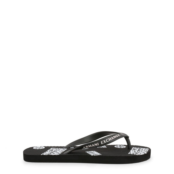 Armani Exchange - Men's Logo Flip Flops - Sandals  - I Love Fashion 365 - Zovasa