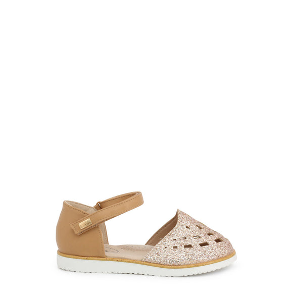 Miss Sixty - Kids Brown Closed Toe Glitter Sandals - Girls Shoes - I Love Fashion 365 - Zovasa - Toddlers - Children