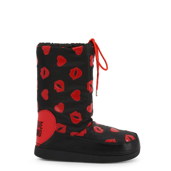Love Moschino -  Designer Kiss - Snow Boots - i-love-fashion-365