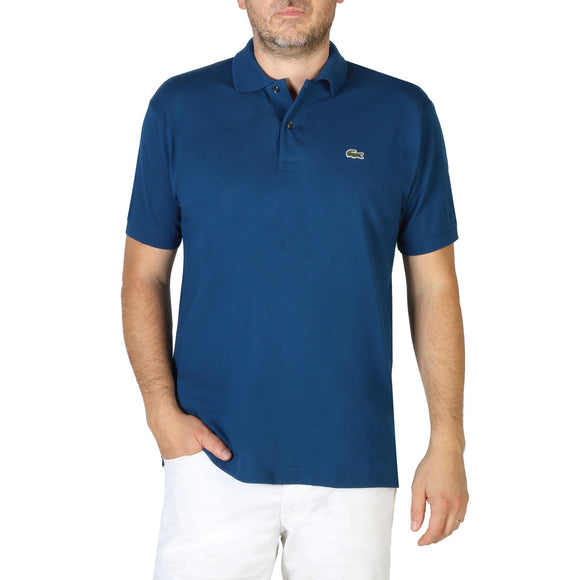 Lacoste - Men's Solid Blue Polo Shirts - i Love Fashion 365 - Zovasa Global