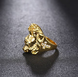 Gold Jesus Rings - VolcanoNation.com