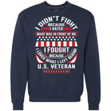 I Didn't Fight Because I Hated Mens Pullover Sweatshirt Hooded Sweatshirt Athletic Casual Hoodies VolcanoNation.com Navy M