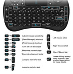 Mini Wireless Keyboard for Windows Android Smart TV - VolcanoNation.com
