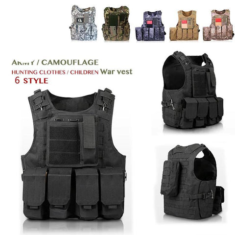 Military Style Tactical Vest - VolcanoNation.com