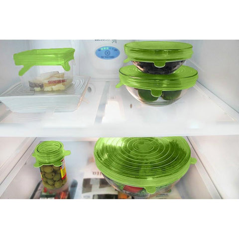 Reusable Universal Silicone Stretch Lids - VolcanoNation.com