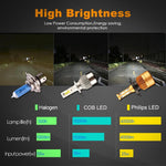 Extremely Bright LED Headlight Bulbs - VolcanoNation.com