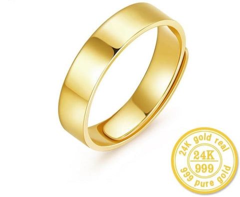 24k Gold Mens,Womens Wedding Rings - VolcanoNation.com