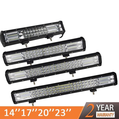 3-Row LED Offroad Light Bar - VolcanoNation.com