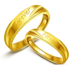 .999 Solid Gold Wedding Bands - VolcanoNation.com