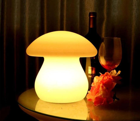 Mushroom Led Night Light With Remote - VolcanoNation.com