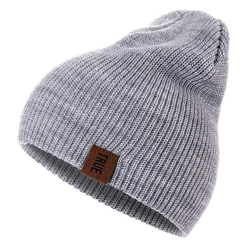 88d888a0999f1b New Knitted Mens Winter Hat for Men Wool Beanie Hats Bonnet Hip Hop Warm  Cap Hats