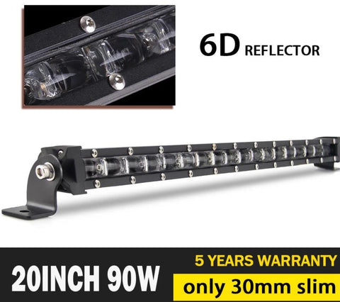 "LED Light bar 20""Spot/Flood Combo - VolcanoNation.com"