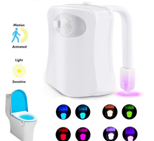 Smart Motion Sensor Toilet Night Light LED - VolcanoNation.com