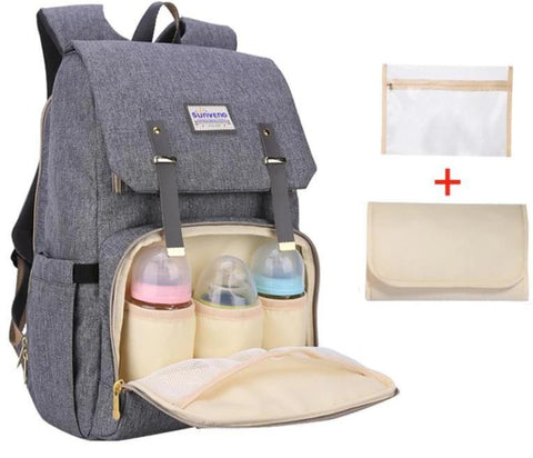 Diaper Bag/Backpack Large Capacity Baby Bag - VolcanoNation.com