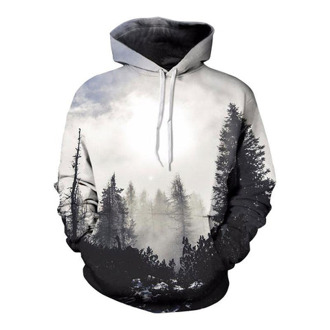 3D Woods Hoodies Printed - VolcanoNation.com