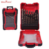 Cobalt Drill Bit Set 19Pc - VolcanoNation.com