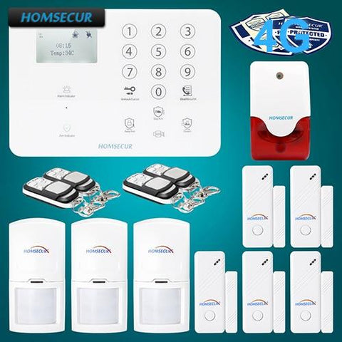 Wireless 4G/GSM LCD Home Security Alarm System+5*Door Sensor - VolcanoNation.com