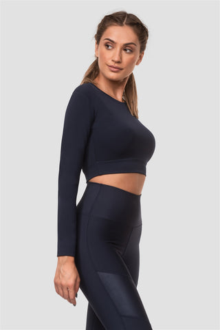 Crop Top Vital Blue