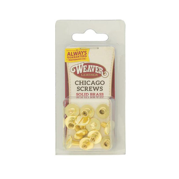 Chicago Screws pack of 10