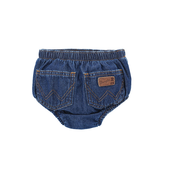 Wrangler Infant Diaper Cover Prewashed Indigo