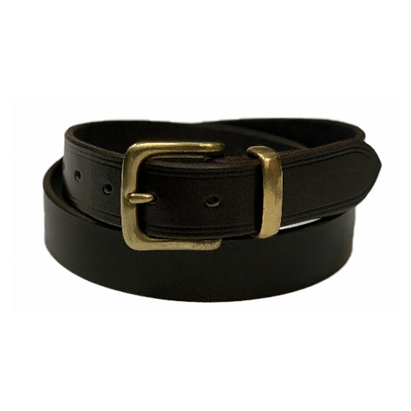 Aus Made MC Mens Plain Belt BR 1 1/2in