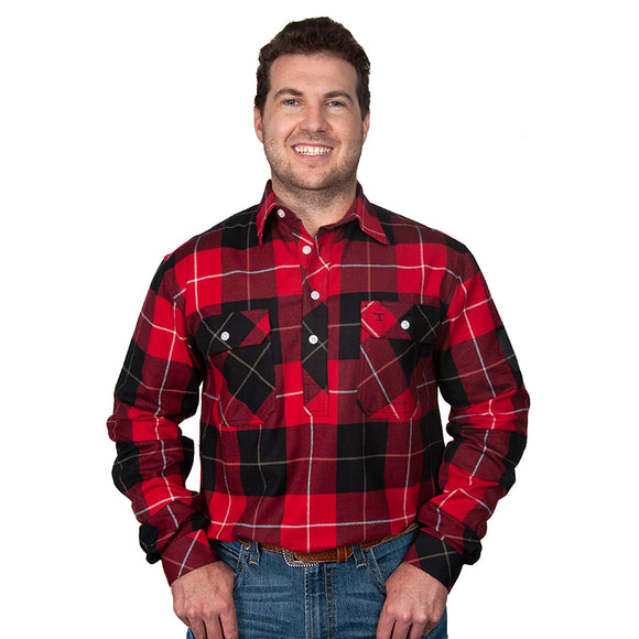 JC Mens Cameron Workshirt Flannel