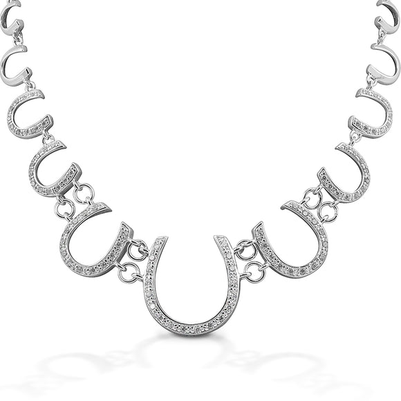 Kelly Herd Large Horseshoe Pendant