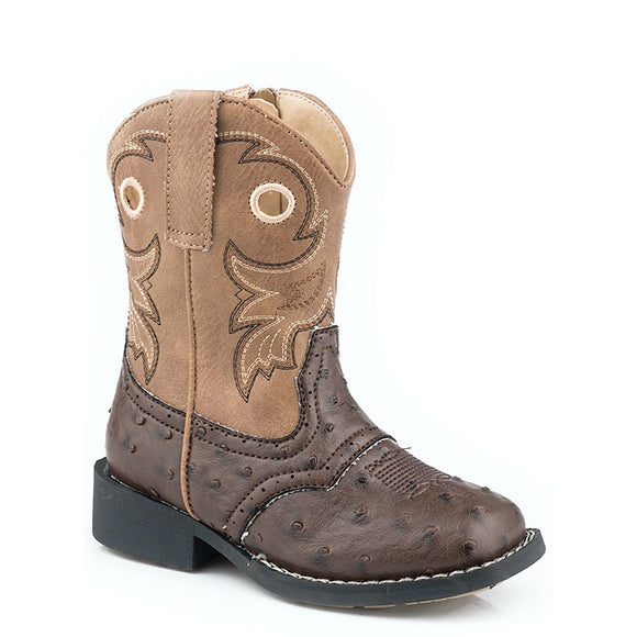 Roper Toddler Daniel Ostrich Boot