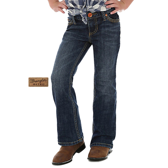 Wrangler Girls Retro BootCut Regular Jean