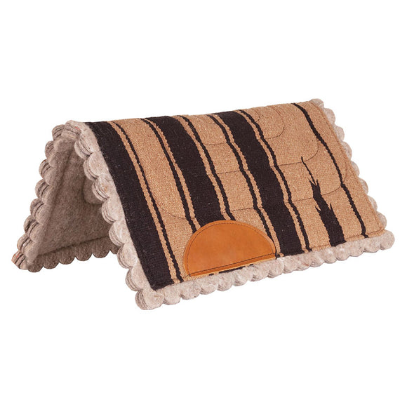 Scalloped Navajo Pony Western Pad