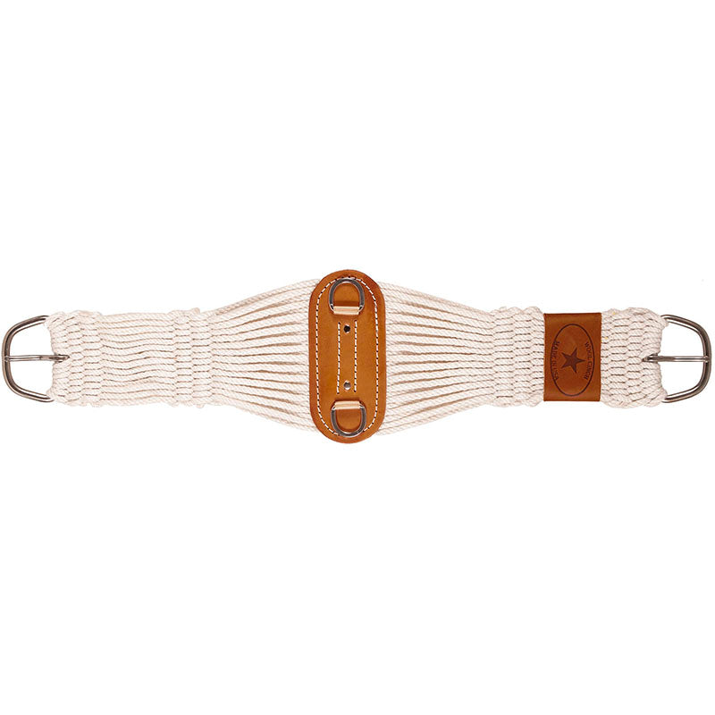 Wool Blend 27 Strand SS Roper Cinch Girth