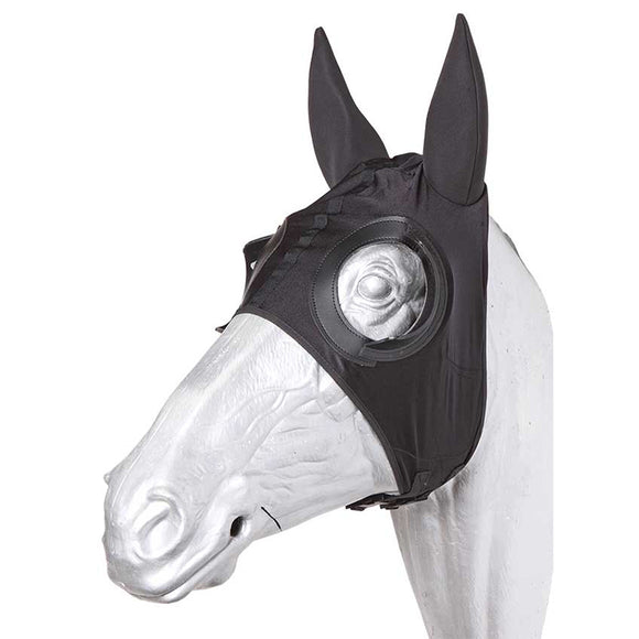 Stretch Race Hood w Neoprene Ears Half Cups