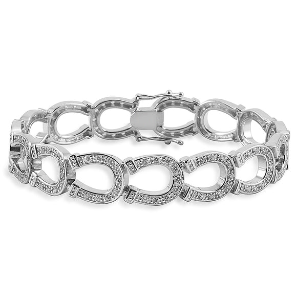 Kelly Herd Horseshoe Bracelet