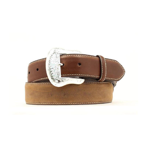 Arrow Laced Billet w Diamond Concho Mens Belt