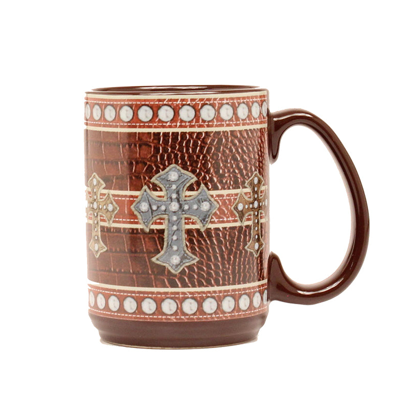 16oz Ceramic Cross Mug