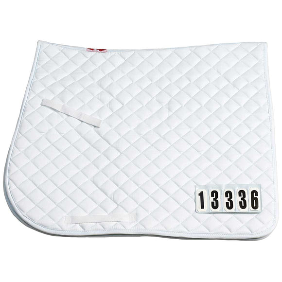Saddle Cloth Competition Numbers Dressage