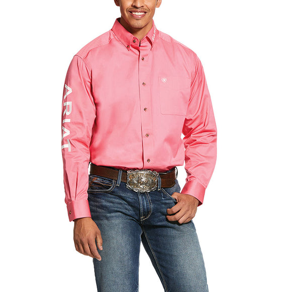 Ariat Mens TEAM Logo Twill L/S Shirt