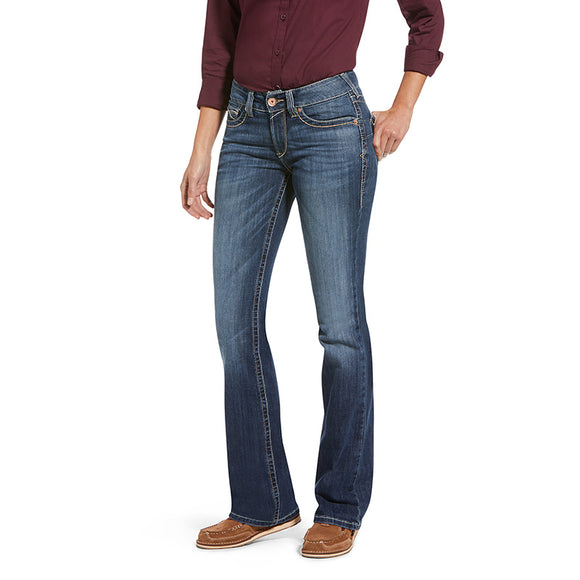 Ariat Wmns REAL Perfect Rise Bootcut Camilla Natalia Jeans