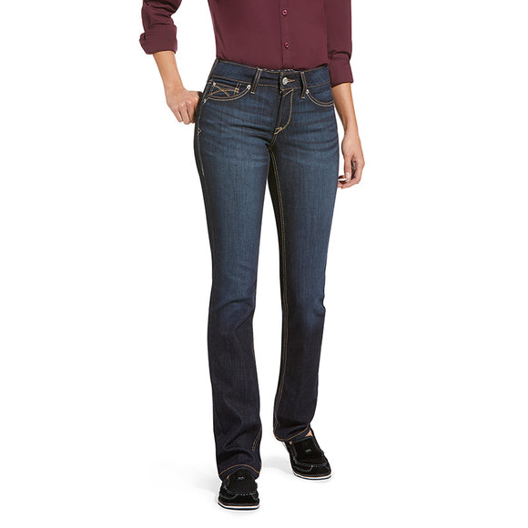 Ariat Wmns REAL Perfect Rise Straight Leg Margaret Nashville Jeans